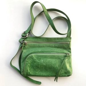 HOBO International Green Cassie Crossbody